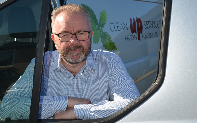 Direktør Clean-Up service